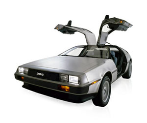 Electric DeLorean - Back to the Future
