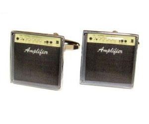 Guitar Amp Cufflinks