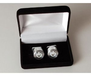 iiCufflinks Apple Mac Button Cufflinks