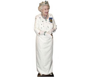 Lifesize Cardboard Cutout Queen