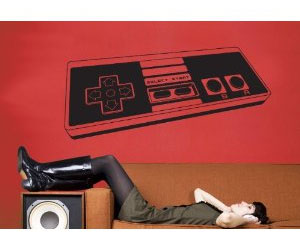NES Controller Wall Sticker