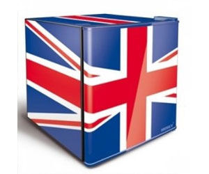 Union Jack Fridge