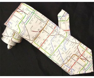 Tube Map Tie